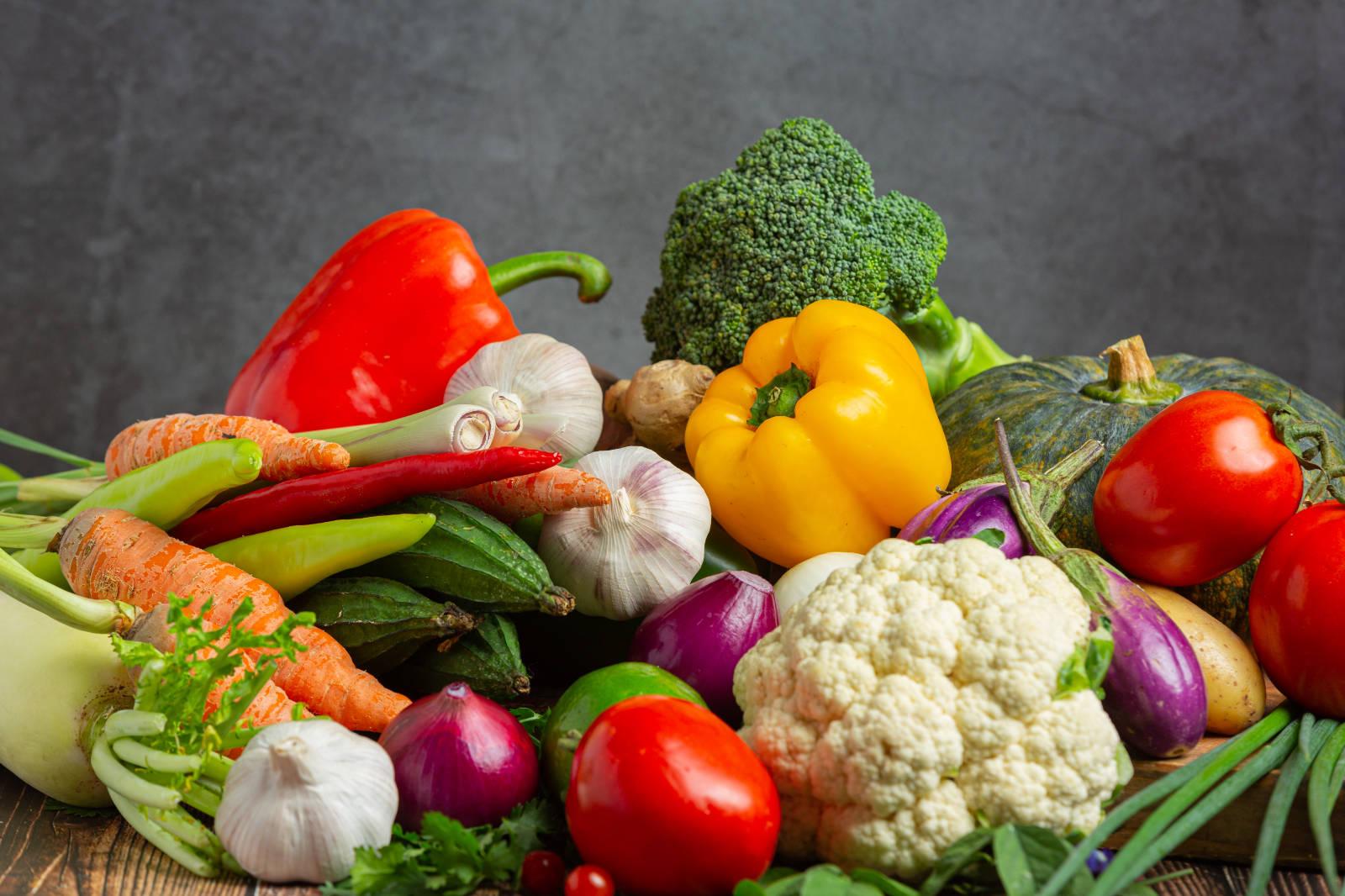 zöldségek vitamin és ásványianyag tartalma