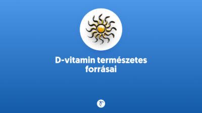 D-vitamin természetes forrásai