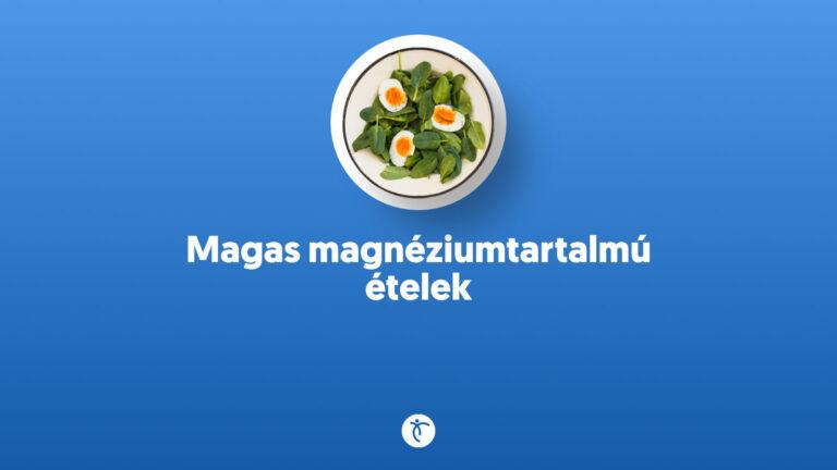 Magas magnéziumtartalmú ételek