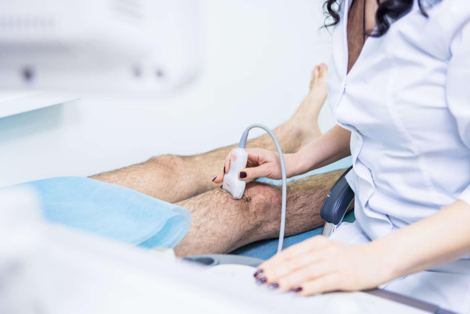 Térd ultrahang vizsgálata