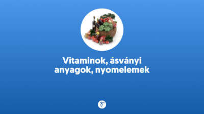 Vitaminok ásványi anyagok nyomelemek