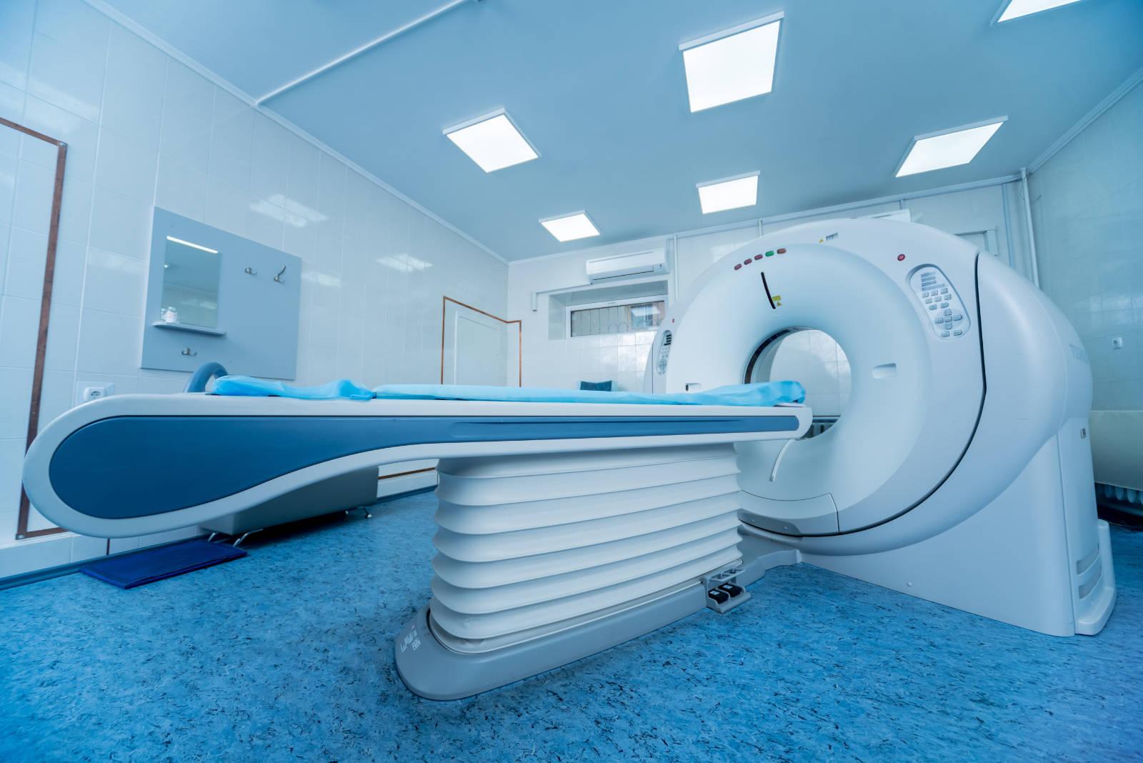 CT vizsgálati berendezés